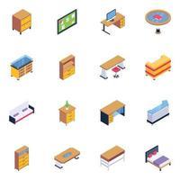 muebles vector