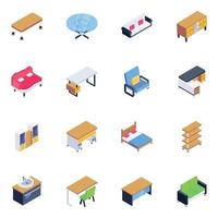 House Hold Equipment vector