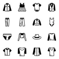 Clothes and Attires vector