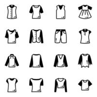 Pack of Costumes vector