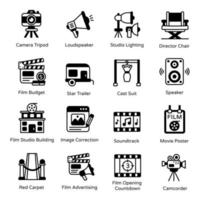 Pack of Filmmaking vector