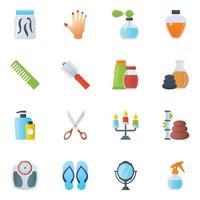 Salon Products and Items vector