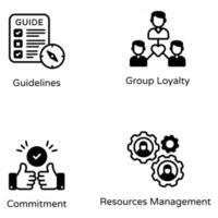 Core Beliefs and Guideline vector