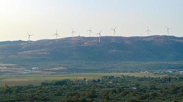 Wind Power plant photo