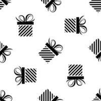 gift box seamless pattern vector