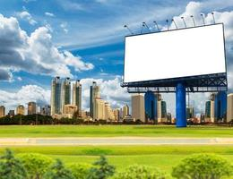 Billboard  for advertisement photo