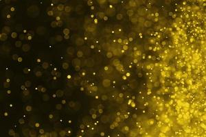 Gold color bokeh background photo