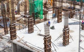 sitio de construcción al aire libre foto