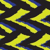 trazo de pincel amarillo piel de patrones sin fisuras vector