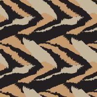 trazo de pincel marrón piel de patrones sin fisuras vector