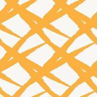 trazo de pincel naranja piel de patrones sin fisuras vector