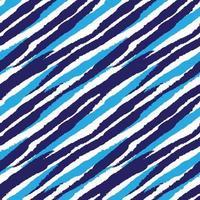 trazo de pincel azul piel de patrones sin fisuras vector