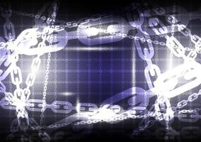Abstract chain background. Vector illustrator design