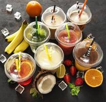 Various summer cold drinks photo