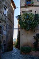 town of Calcata vechhia photo