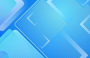 Curve Geometric Layer with Blue Gradient vector