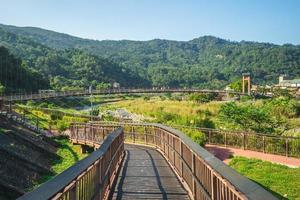 Scenery of Nanjiang riverside park in Nanzhuang township, Taiwan photo