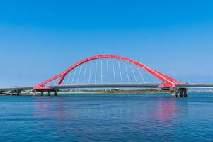 Jinde Bridge in Pingtung, Taiwan photo