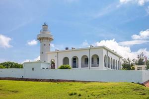 Eluanbi lighthouse at Kenting, Pingtung, Taiwan photo