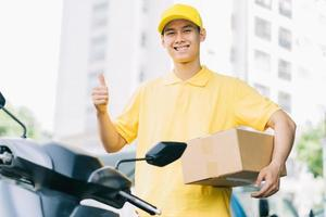 Fast delivery service in Asia is thriving photo