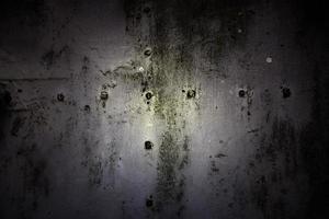 Rust texture on metal wall photo