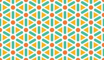 Abstract pattern. triangle background. bright colors pattern vector illustration