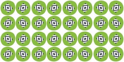 seamless pattern background green circle. vector illustration