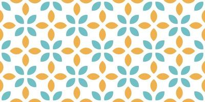 Seamless abstract leaves pattern Vector illustration