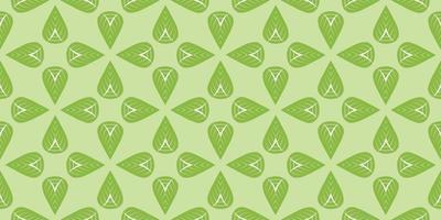 leaves pattern background  vector illustration