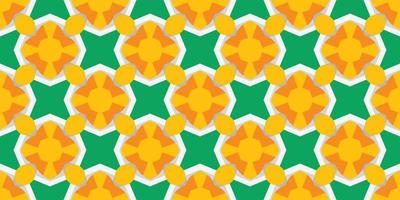 Abstract seamless pattern vector illustration yellow