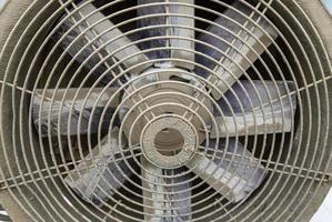 Old fan blades photo