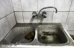 Dirty  bathroom unsanitary photo