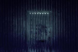 industria de puertas de metal foto