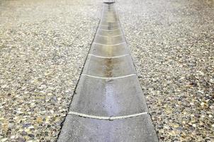 Wet street floor photo