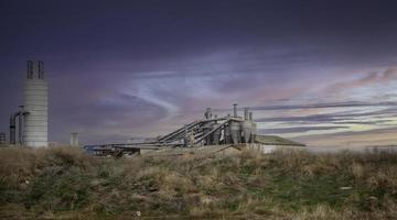 Metal storage tanks photo