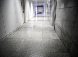 Hospital corridor in interior photo