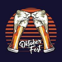 Oktoberfest hand drawn vector illustration