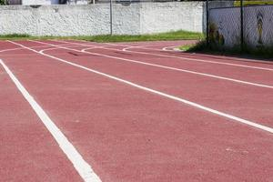 track of Brazilian athletics photo