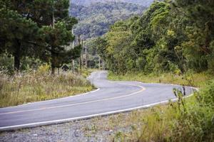 brazilian road empty photo