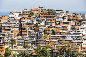 paisaje de la favela cantagalo foto