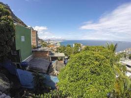 Details of Vidigal hill in Rio de Janeiro - brazil photo