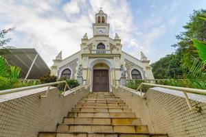 capilla de nuestra señora de gracias en el distrito de botafogo en río de janeiro. foto