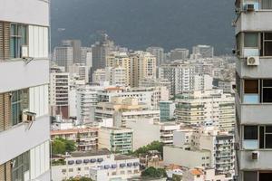 vista de edificios en el barrio de botafogo en río de janeiro brasil. foto