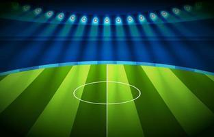 Modern Football Stadium Background vector