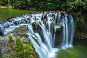 Shifen Waterfall in New Taipei City, Taiwan photo