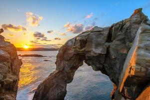 Elephant rock in Shenao, Taipei, Taiwan photo