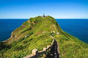 paisaje del cabo bitou en nueva ciudad de taipei, taiwán foto