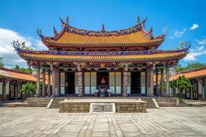 Taipei Confucius Temple in Dalongdong, Taipei, Taiwan photo