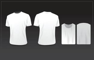 Clothing Template MockUp vector