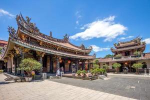 templo baoan en taipei, taiwán foto